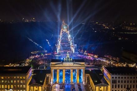 Новый год в Берлине, Бранденбургские ворота