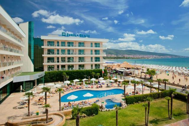 Отель DIT Evrika  Beach Club 4*, Солнечный берег, Болгария